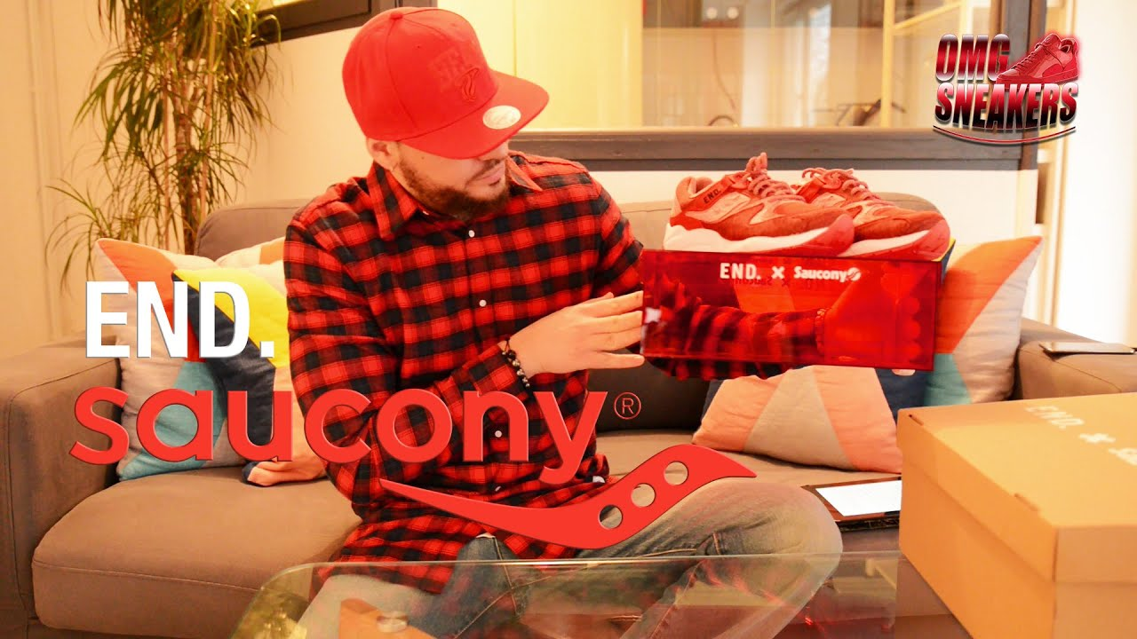 Saucony Red Noise
