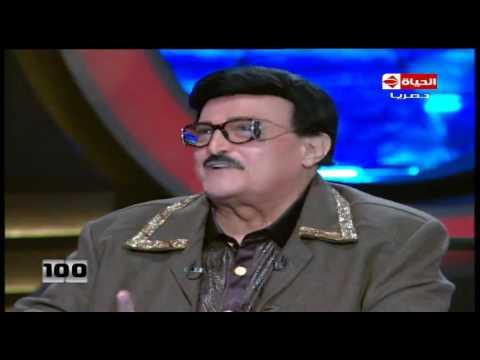100 سؤال - شاهد رد فعل سمير غانم عندما رأى صورة محمد مرسي