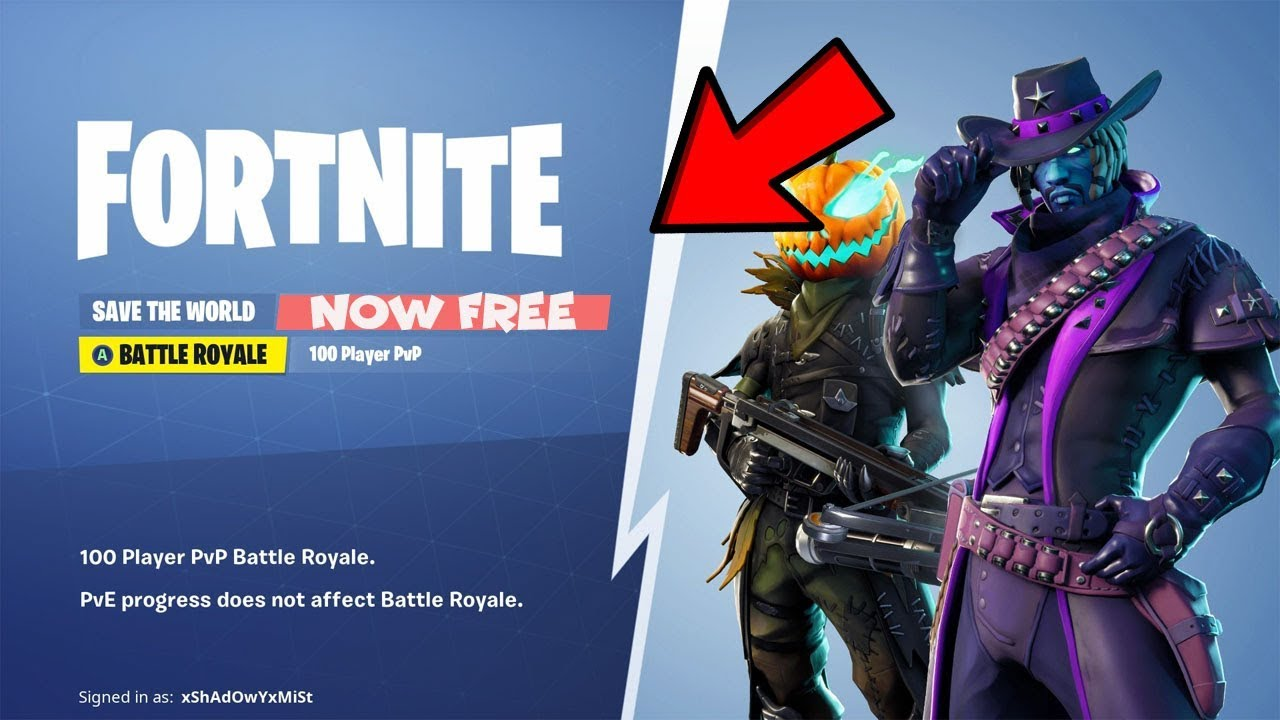 How To Get Fortnite Save The World For Free! (XBOX, PS4 ...