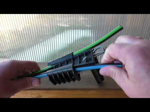 Зажим анкерный для натяжки провода СИП.