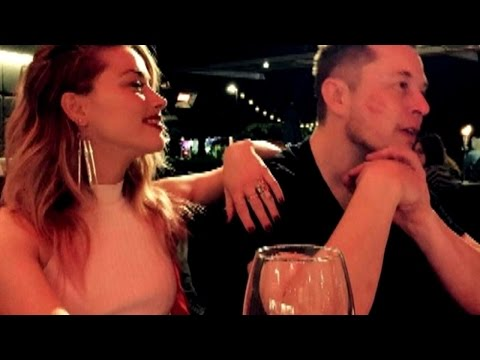 Amber Heard Moves On From Johnny Depp to Billionaire Elon Musk