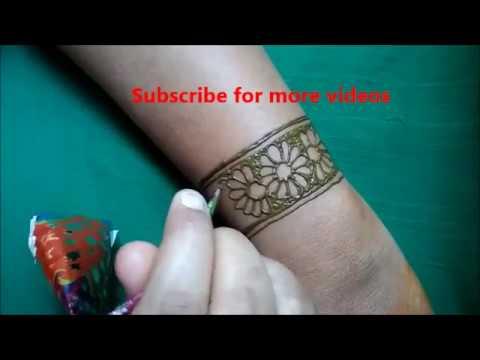 Diy Bracelet Henna Mehndi Designs For Hands Simple Jewlery
