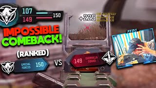 WORLDS CRAZIEST COMEBACK in COD Mobile RANKED HISTORY! (this was so INTENSE)
