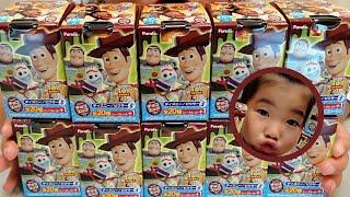 【まさかのラスト】チョコエッグ????ピクサー5????トイストーリー4????10個大人買い????開封レビュー!!????Disney/PIXAR Chocolate eggs Surprise