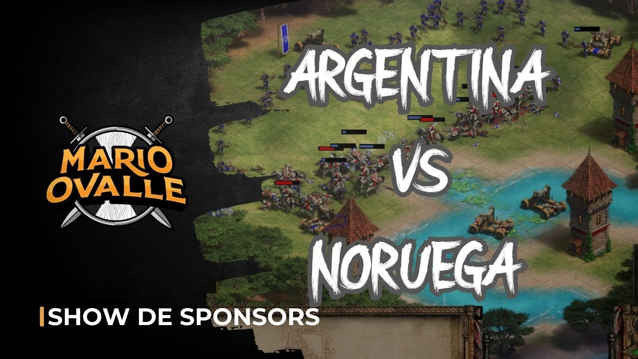 ARGENTINA VS NORUEGA BO3 2 VS 2 ARABIA VIPER-MBL VS TWIGG NACHO