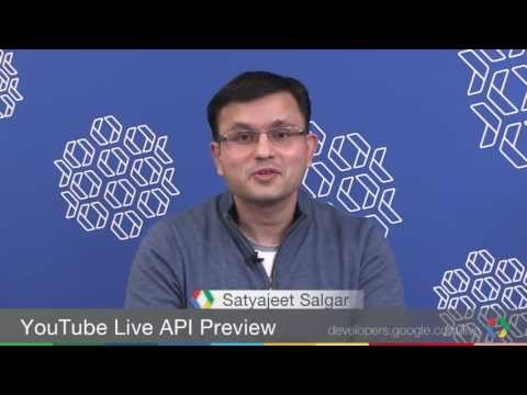 Broadcast Yourself!: Using The YouTube Live APIs To Stream To The World