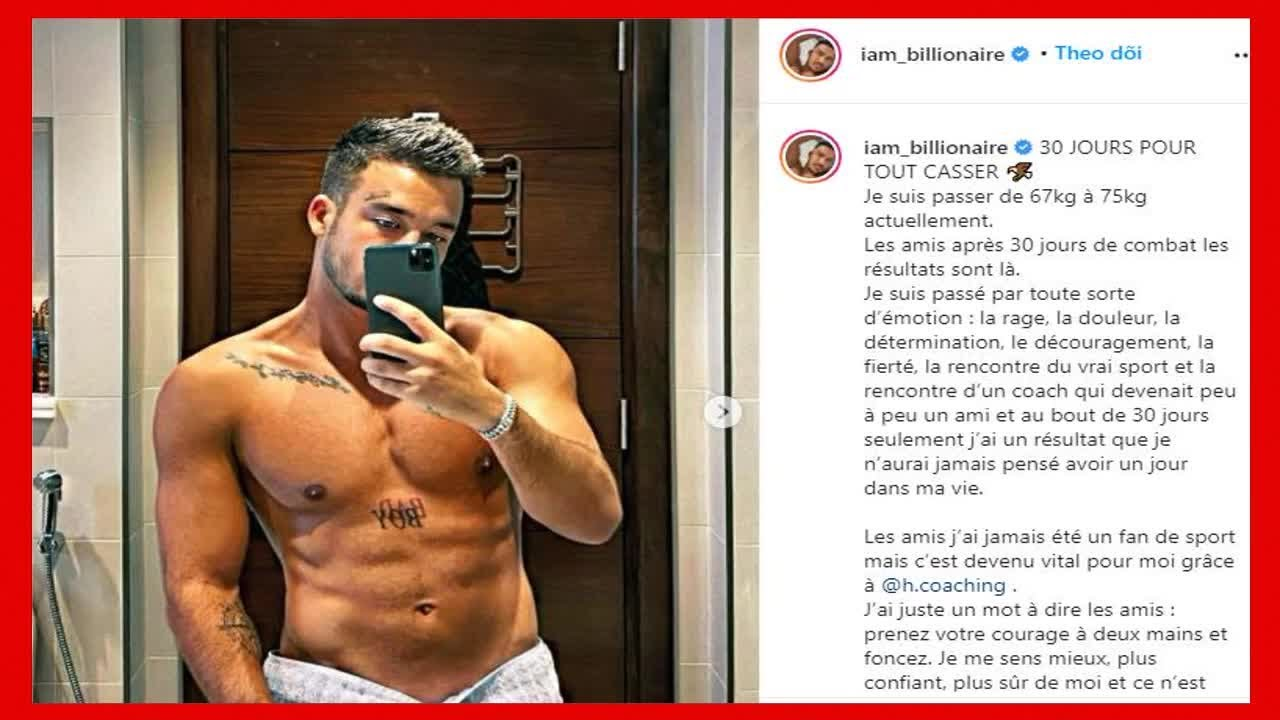 Laurent (JLC Family) partage une photo de son incroyable transformation physique !