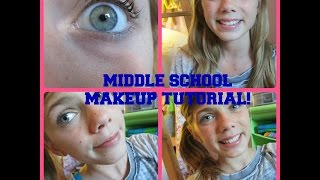 Middle School Makeup Tutorial Thumbnail