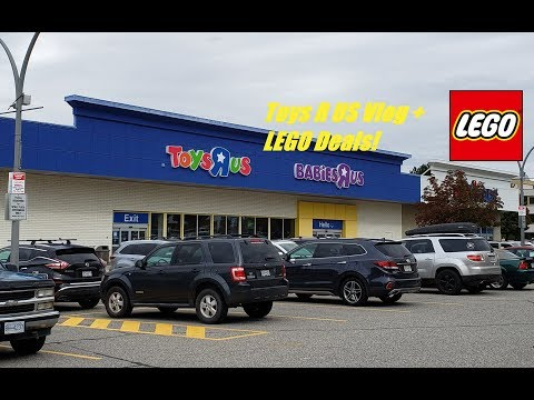 Toys R US Vlog + LEGO Deals!
