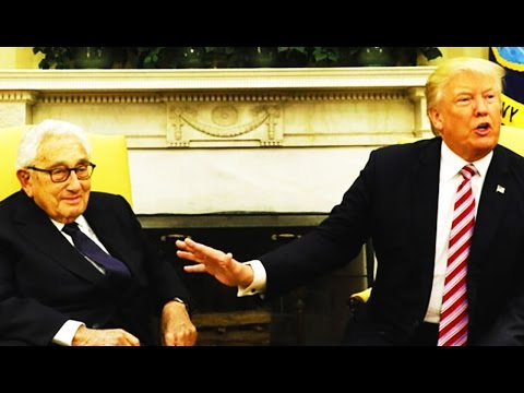 Trump's Ingenious Play To Distract From Bad 'Ethics' Press After Comey: Meet With Henry Kissinger