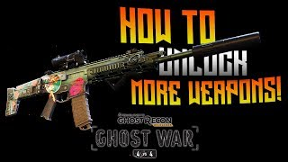 GHOST WAR - How To Unlock MORE Weapons!