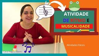 Projeto musica na educação infantil 4 e 5 anos