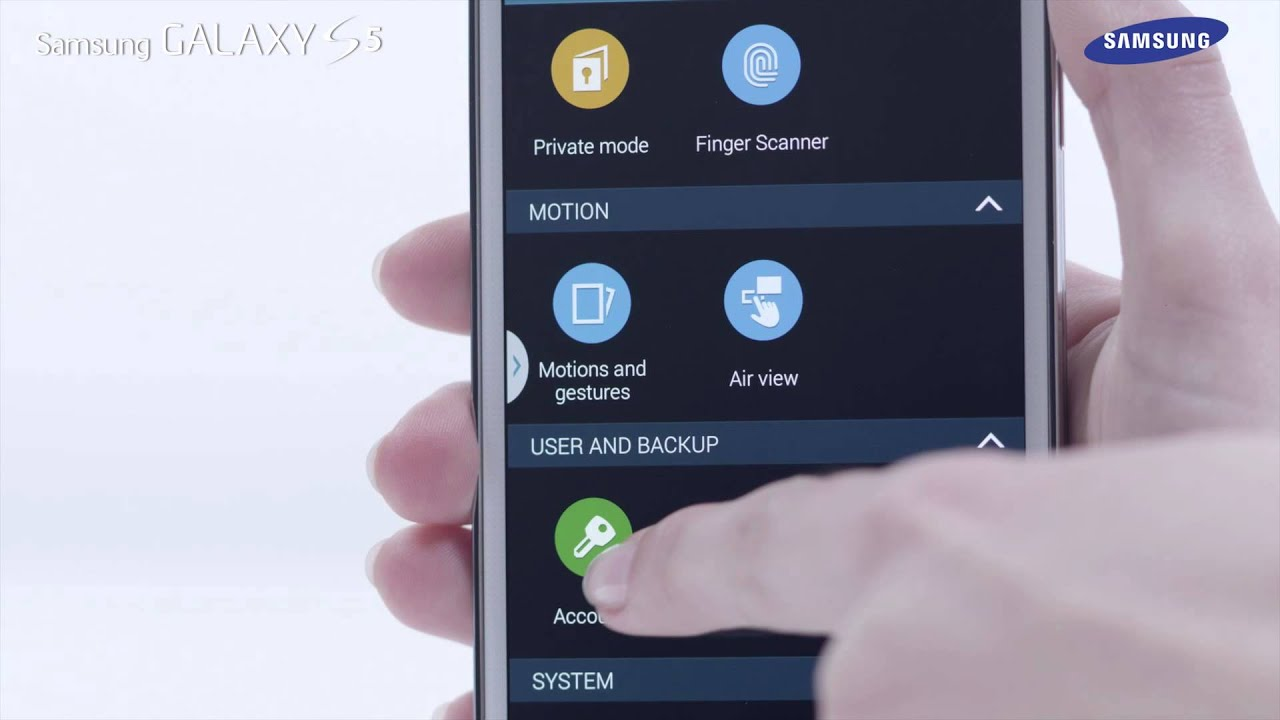 Samsung Galaxy S5 | How To: Use the Settings Menu