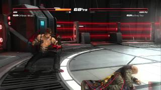 DOA5U Replay 68: Offbeat Ninjas(Ein) vs Jeffrey Roy(Gen Fu)