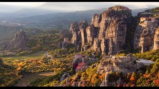 Meteora Greece - Suspended in Air