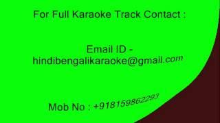 Brishti Tomake Dilam - Karaoke - Srikanto Acharya