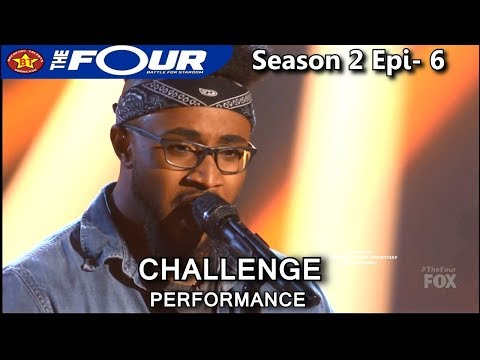 "Jeronelle McGhee sings ""This Woman's Work"" Challenge Performance WOW!! The Four Season 2 Ep. 6 S2E6"