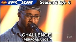 """Jeronelle McGhee sings """"This Woman's Work"""" Challenge Performance WOW!! The Four Season 2 Ep. 6 S2E6"""