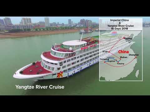 Imperial China & Yangtze River Cruise 16 Days 2018