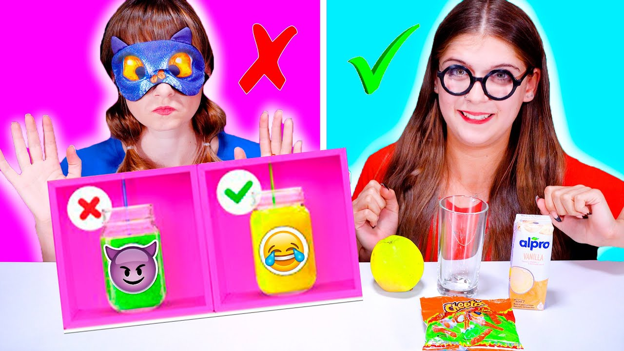ASMR Mystery Drink Challenge   DON'T CHOOSE THE WRONG MYSTERY DRINK CHALLENGE