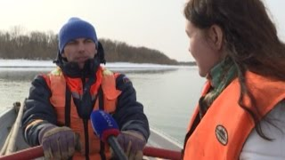 Спасти утопающего: сотрудники МЧС провели учения в Вологде