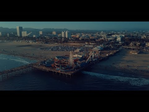 Venice Beach & Santa Monica Pier In 4K! (Mavic Pro Drone Footage)