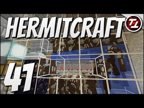 Hermitcraft V: #41 - New AFK Cow Farm Design!