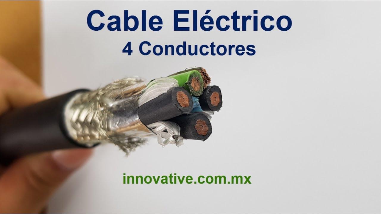 Cable Eléctrico 4 Conductores Blindado Malla para Subestaciones y ...