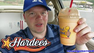 Reed Reviews Hardee's Orange Cream Milkshake