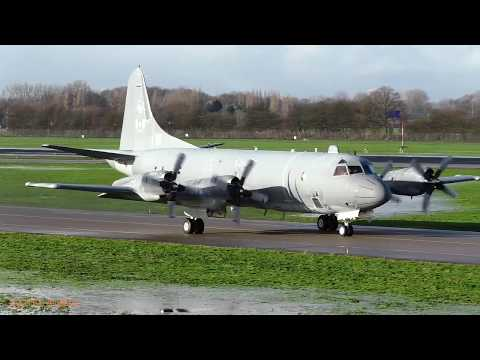 CAF CP-140M AURORA Departure Rotterdam/The Hague Airport (EHRD)
