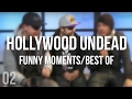 hollywood undead funny moments/best of [ O2 ]