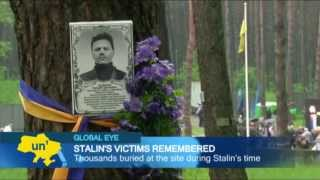 Ukraine Honors Victims of Soviet Terror: Ukrainians remember millions murdered during Stalin era