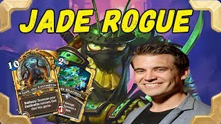 Kibler plays a Jade rogue deck (Kobolds and Catacombs)