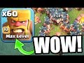 FIRST EVER MAX LEVEL TROOP INSANELY OP LvL 10 RAGED BARBARIANS BUILDERS VILLAGE Clash Of Clans