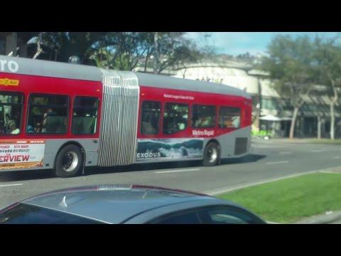 L.A.Metro Rapid 710 - Crenshaw Sta via Crenshaw Blvd to Wilshire blvd
