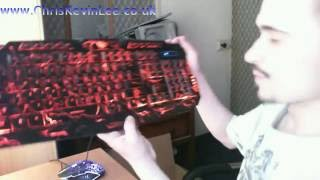 Setting up MFTEK USB Wired LED 3 Colour Backlit Gaming Keyboard and Mouse