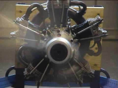 Moki Radial Engine 250ccm