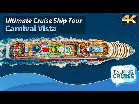 Carnival Vista: Ultimate Cruise Ship Tour - 2017