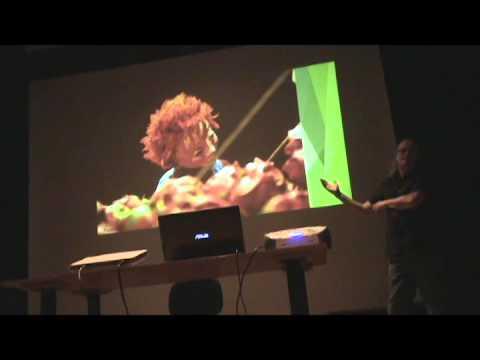 Workshop Iluminação e desenho de som com Ian Evans/parte2 (port)