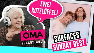 Cover images Oma schaut Musik - Surfaces (Sunday Best)