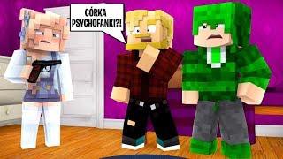 CÓRKA PSYCHOFANKI? CZEGO ONA CHCE?! l Minecraft BlockBurg