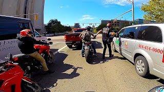 Ducati riders are IDIOTS! - Thurman Cafe
