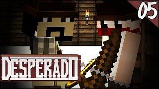 VERRÜCKTE Banditen in der Stadt? - Minecraft DESPERADO #05 | Kedos