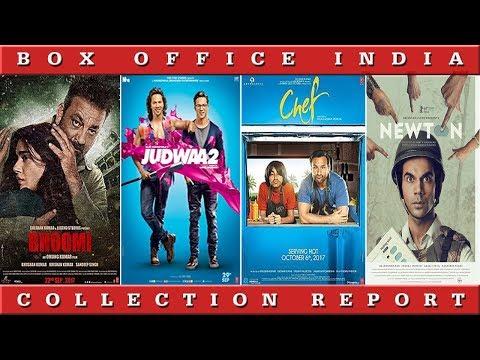 Box Ofice Collection Of Chef, Judwaa 2, Newton, Bhoomi, haseena Parkar| Box Office India