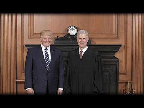 TRUMP JUST SHOWED UP THE SUPREME COURT AND GAVE GORSUCH THE ULTIMATE SURPRISE