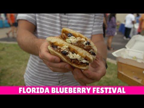 Florida Travel: Visit the Florida Blueberry Festival
