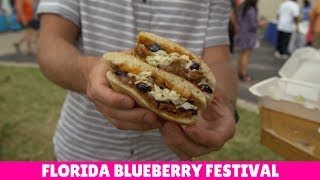 Florida Travel: Visit the Florida Blueberry Festival