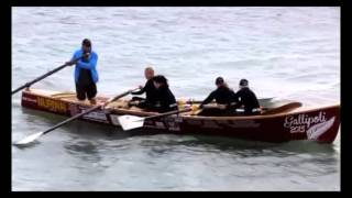 Gallipoli 100 Surfboat Race - April 2015 Turkey
