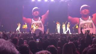 NKOTB Mixtape Tour Cleveland 5-4-19 80's Baby Video