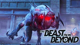 THE BEAST FROM BEYOND EASTER EGG MAIN QUEST INFINITE ZOMBIES DLC 4 GAMEPLAY